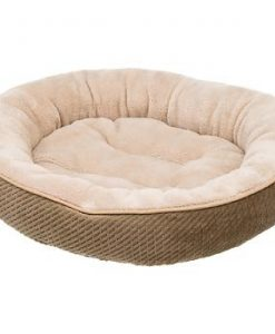 Petco-Textured-Round-Cat-Bed-in-Sand-20-Diameter-0