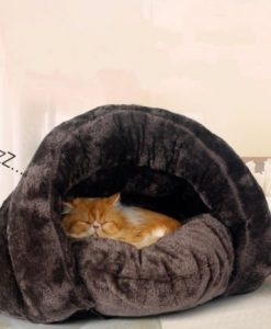 Warm-and-Washable-Pet-Dog-Cat-Sleeping-Bag-Bed-Covered-Sleeping-Bag-Cushion-Pet-House-Soft-Pet-Kennels-Coffee-2-Size-0