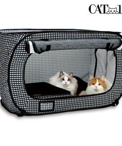 Necoichi Portable Stress Free Cat Cage 5
