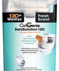 CatGenie 120 SaniSolution SmartCartridge, Fresh Scent, 15 Fluid Ounce 3