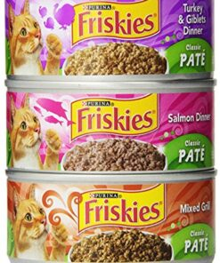 Purina Friskies Pate Adult Wet Cat Food Variety Pack - (2 Packs of 12) 5.5 oz. Cans 16