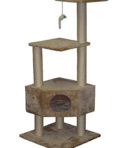 Go Pet Club Cat Tree Beige Color 3
