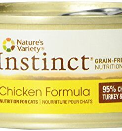 Instinct Original Grain Free Real Chicken Recipe Natural Wet Canned Cat Food by Nature's Variety, 5.5 oz. Cans (Case of 12) 14