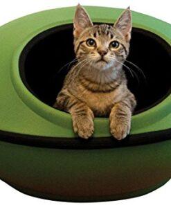 "K&H Pet Products Mod Dream Pod Pet Bed Green/Black 22"" 10"