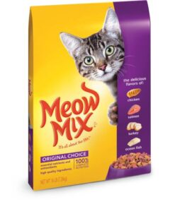 Meow Mix Original Choice Dry Cat Food, 16 lb 5