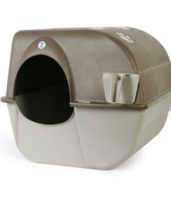 Omega Paw Self-Cleaning Litter Box, Pewter 8