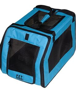 Pet Gear Signature Pet Car Seat & Carrier for cats and dogs up to 20-pounds, Aqua 7