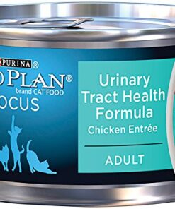 Purina Pro Plan FOCUS Urinary Tract Health Formula Chicken Entree in Gravy Adult Wet Cat Food - (24) 3 oz. Pull-Top Cans 12