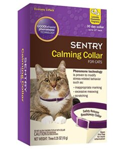 SENTRY Calming Collar for Cats, 3 Count 15