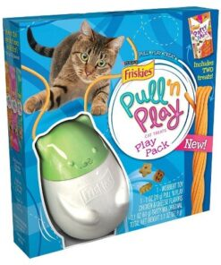 Friskies Wobbert Cat Toy Play Pack (Pull 'n Play line) 11