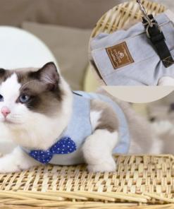 Cat's Elegant Shirt Harness And Leash 7